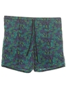 Mens Totally 80s Print Board Shorts