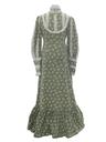 Womens Jessica Mcintock Style Hippie Prairie Maxi Dress