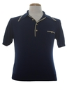 Mens Ban-lon Knit Polo Shirt