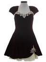 Womens Velvet Mini Prom Or Cocktail Sweatheart Dress