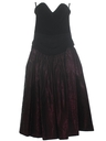 Womens/Girls Velvet Prom Or Cocktail Dress