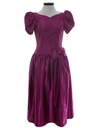 Womens Totally 80s Prom Or Cocktail Party Dress