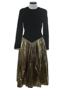 Womens Designer Velvet Cocktail Dress