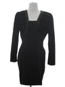Womens Cocktail Wiggle Dress