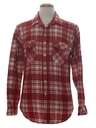 Mens Flannel Work Shirt