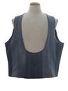 Mens Denim Hippie Vest
