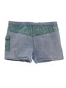 Mens Totally 80s Acid Washed Swim Shorts
