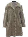 Womens Mini Fake Fur Coat Jacket