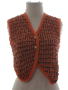 Womens Hippie Sweater Vest