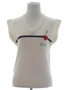 Womens Golf Sweater Vest