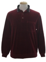 Mens Velour Shirt
