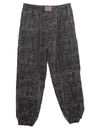 MensTotally 80s Baggy Print Pants