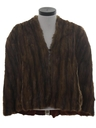 Womens Fab Forties Fur Cape Jacket