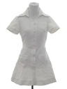 Womens Mini Knit Nurses Dress