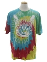 Unisex Tie Die Animal T-Shirt