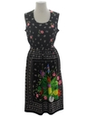 Womens Hawaiian Hippie Dress
