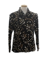 Mens Designer Abstract Print Disco Shirt