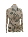Mens Geometric Print Disco Shirt