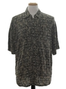 Mens Totally 80s Print Sport Shirt