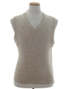 Mens Wool Sweater Vest