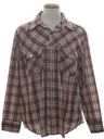 Mens Plaid Work Shirt