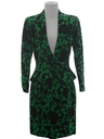Womens Totally 80s Designer Skirt Suit