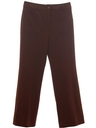 Womens Flare Leg Knit Pants
