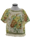 Womens Hippie Shirt