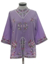 Womens Hippie Tunic Shirt