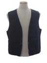 Mens Reversible Denim Vest