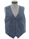 Womens Wicked 90s Denim Vest