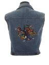 Womens Totally 80s Denim Disney Vest