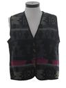 Womens Wool Hippie Vest