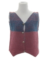 Womens Wool Hippie Vest