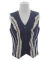 Womens Denim Hippie Vest