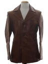 Mens Leather Leisure Jacket
