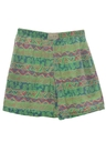 Unisex Totally 80s Print Shorts