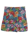Womens Totally 80s Hawaiian Shorts