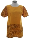 Womens Hippie Tunic Shirt or Mini Dress