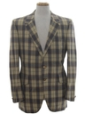 Mens Disco Sport Coat Blazer Jacket