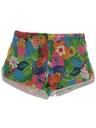 Mens Hawaiian Mod Swim Shorts