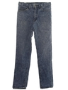 Mens Totally 80s Designer Acid Washed Jeans Pants