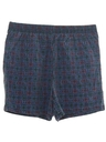 Mens Mens Totally 80s Baggy Print Shorts