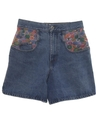 Womens Womens Totally 80s Denim Shorts