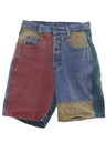 Womens Womens Wicked 90s Denim Shorts