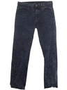 Mens Levis Totally 80s Stone Washed Jeans Pants