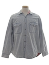 Mens Wicked 90s Grunge Denim Shirt