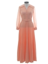 Womens Maxi Disco Knit Dress