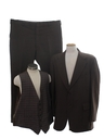 Mens Three Piece Polyester Suit