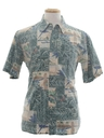 Mens Reverse Print Hawaiian Shirt